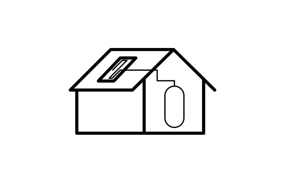 instalacja solarna do projektu domu jednorodzinnego