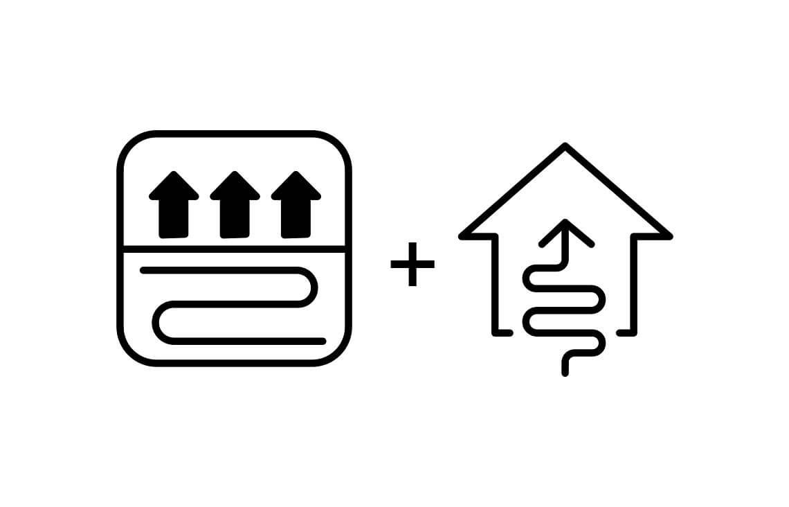 ogrzewanie podłogowe i pompa ciepłado projektu domu jednorodzinnego