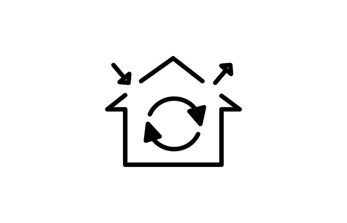 wentylacja mechaniczna z rekuperacja do projektu domu jednorodzinnego