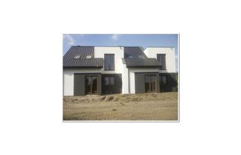 Projekt domu szeregowego-bliźniaczego Andrzej realizacja 2