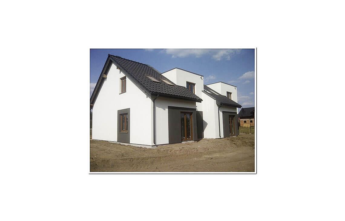 Projekt domu szeregowego-bliźniaczego Andrzej realizacja 4