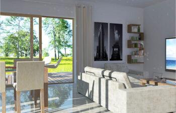Projekt domu jednorodzinnego Angelina A wnętrze 1
