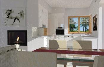 Projekt domu jednorodzinnego Angelina A wnetrze 2