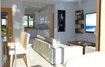 Projekt domu jednorodzinnego Anita A wnętrze 4