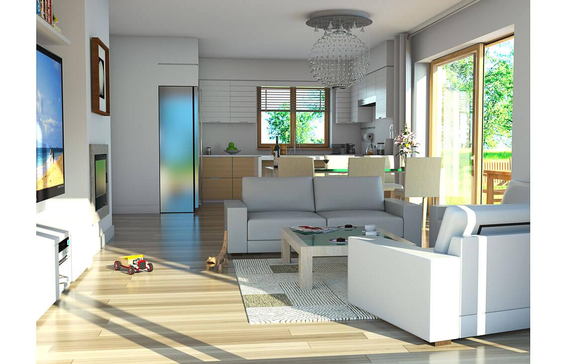 Projekt domu jednorodzinnego Atos A wnętrze 1