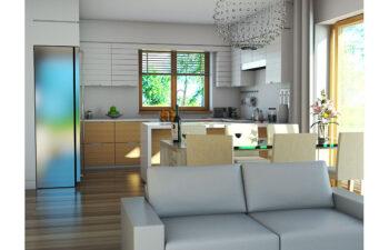 Projekt domu jednorodzinnego Atos A wnętrze 2