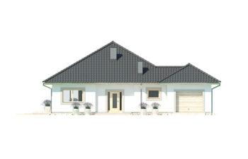 Projekt domu jednorodzinnego Bella elewacja front
