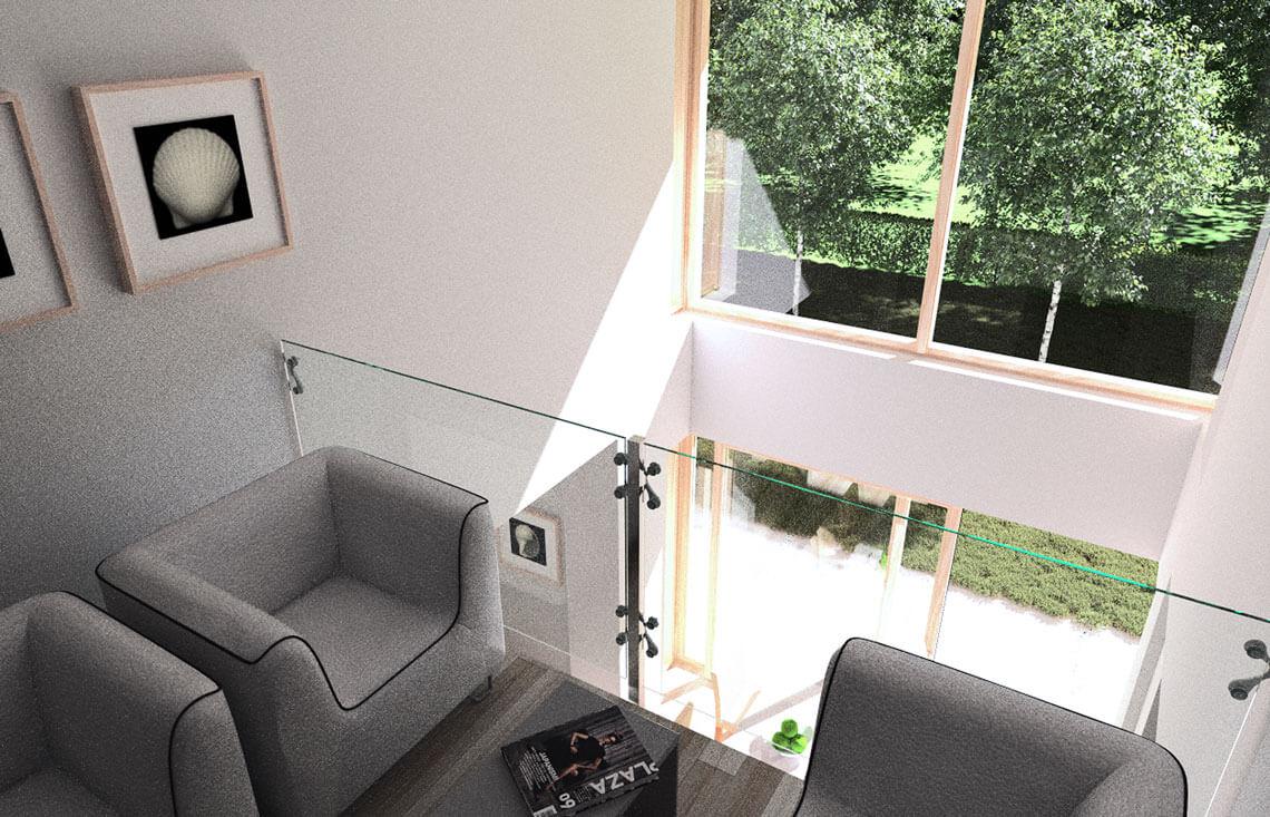 Projekt domu jednorodzinnego Carmen Grande wnętrze 1