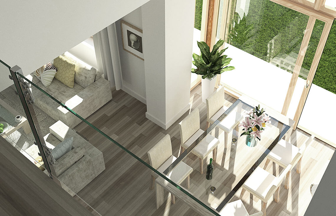 Projekt domu jednorodzinnego Carmen Magdalena Optima A wnętrze10