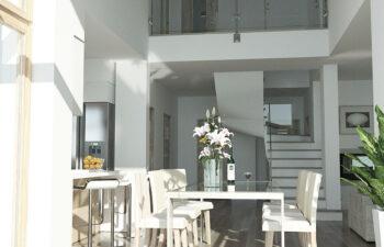 Projekt domu jednorodzinnego Carmen Magdalena Optima A wnętrze 13