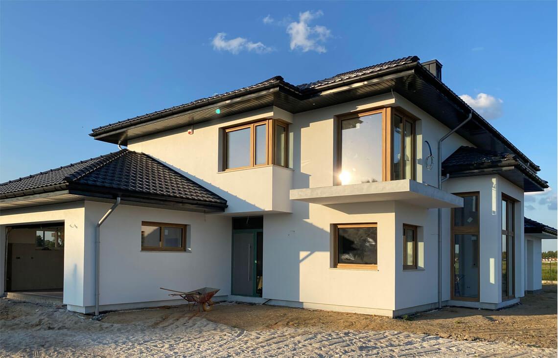 Projekt domu Carmen Magdalena LUX realizacja 1