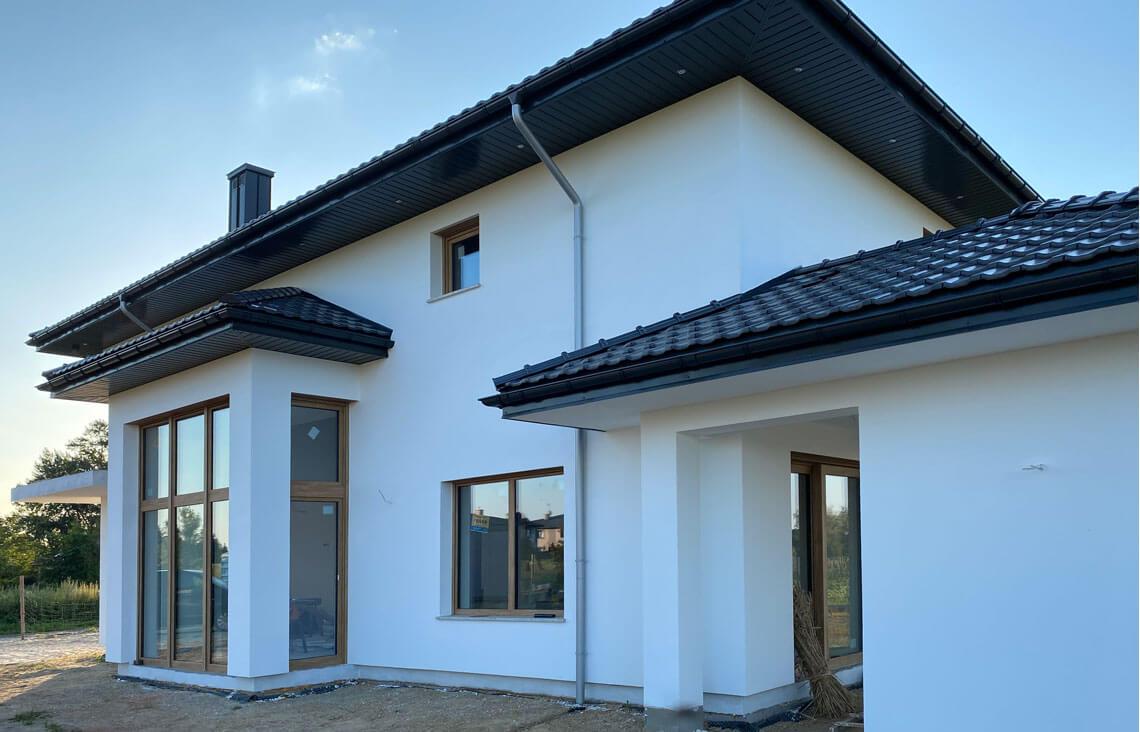 Projekt domu Carmen Magdalena LUX realizacja 3