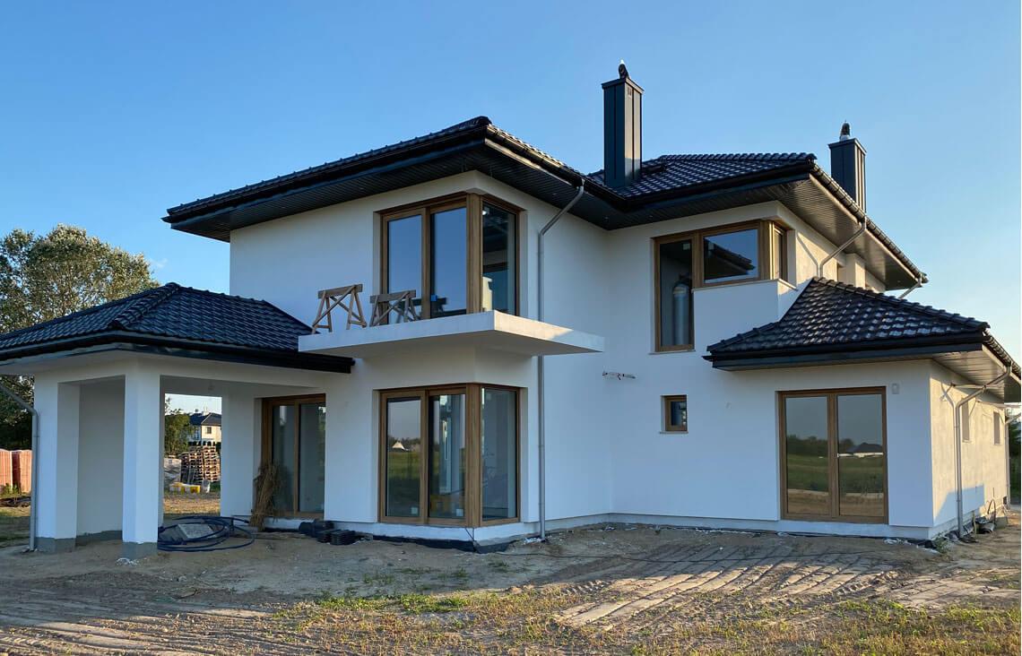 Projekt domu Carmen Magdalena LUX realizacja 5