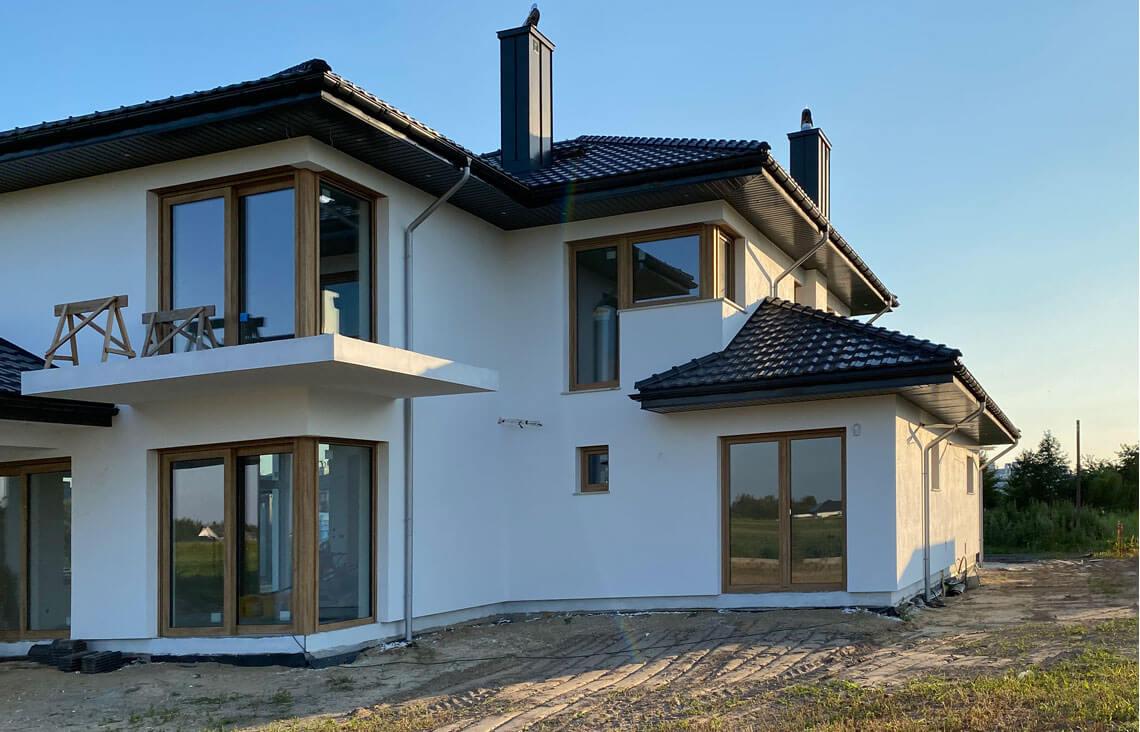 Projekt domu Carmen Magdalena LUX realizacja 6