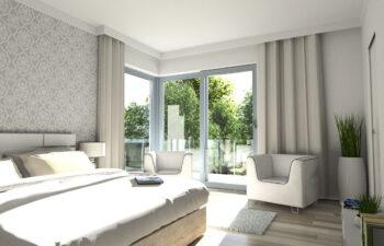 Projekt domu jednorodzinnego Carmen Magdalena C wnętrze sypialnia
