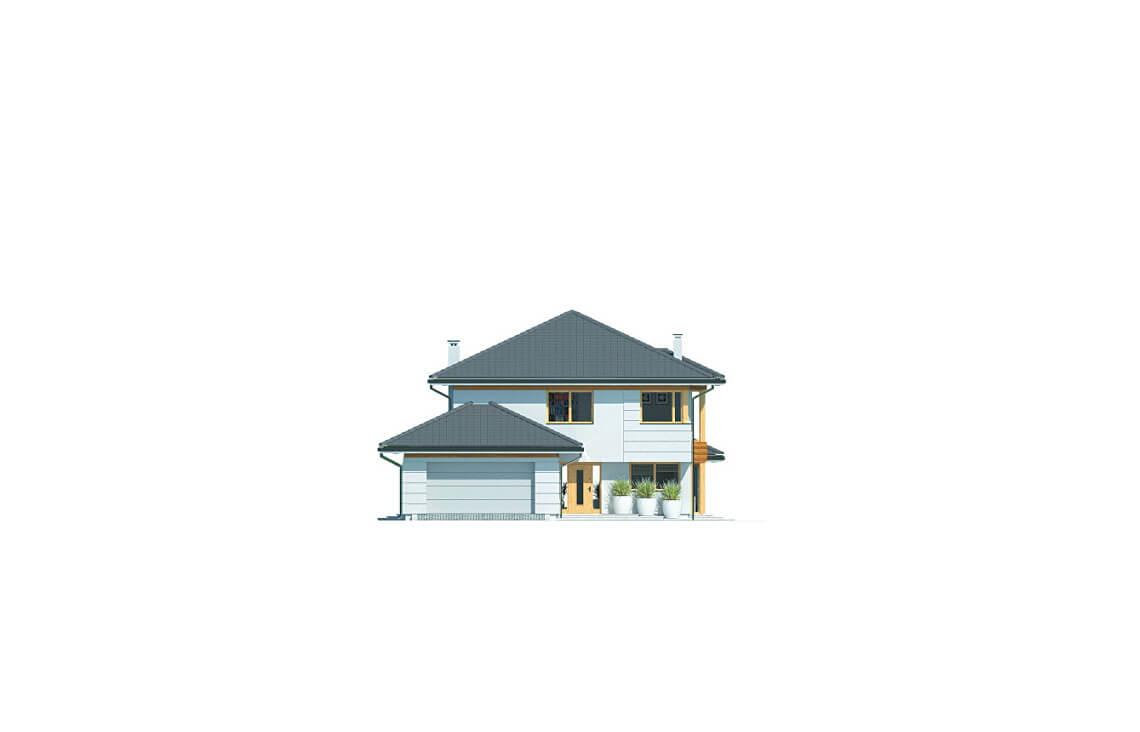 Projekt domu jednorodzinnego Carmen Grande elewacja front