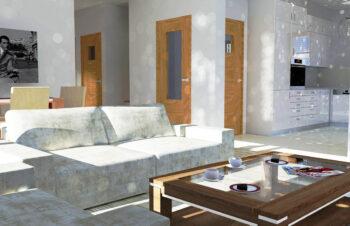 Projekt domu jednorodzinnego Anita A wnętrze 1