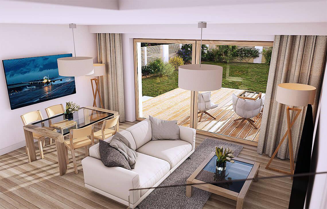 Projekt domu Elena A wnętrze 1