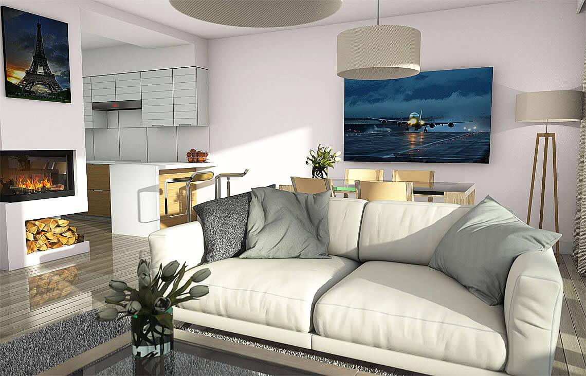 Projekt domu Elena A wnętrze 3