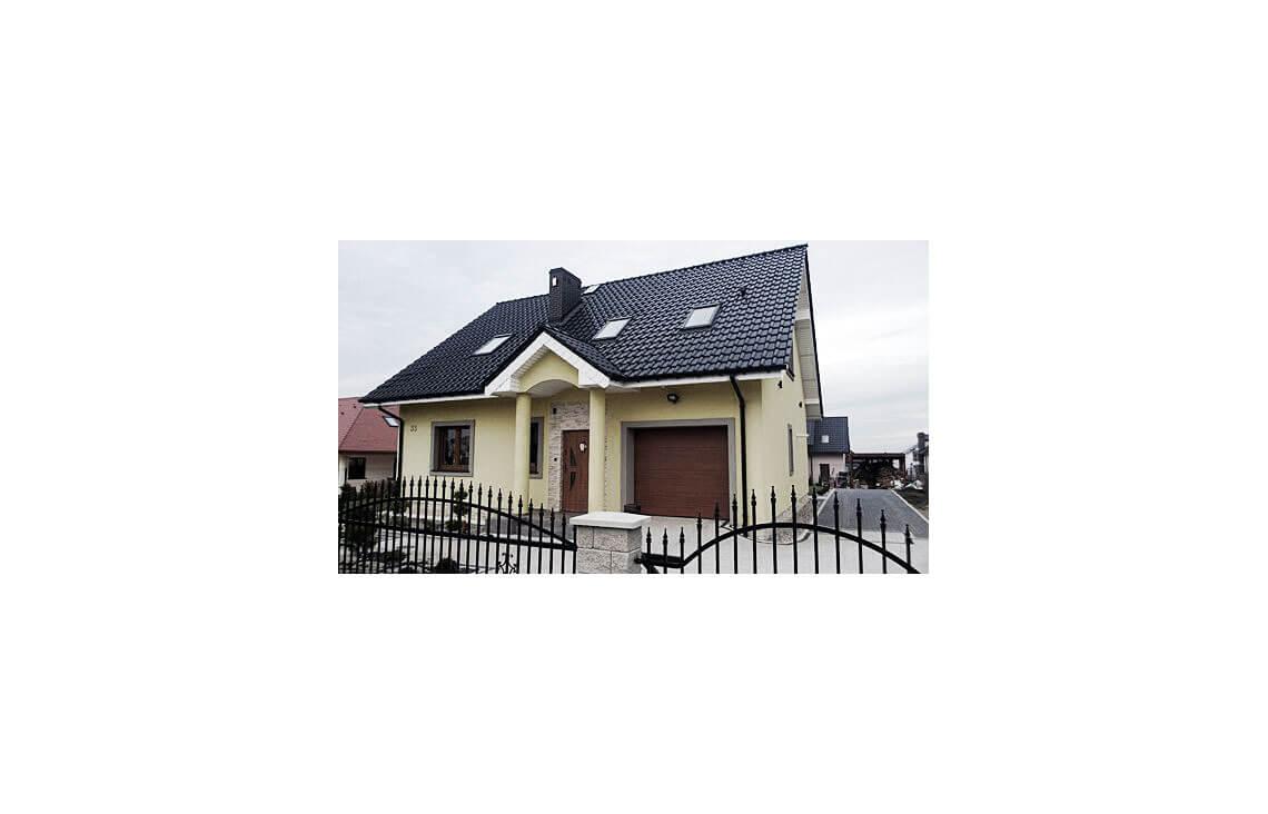 Projekt domu Ewa realizacja 2