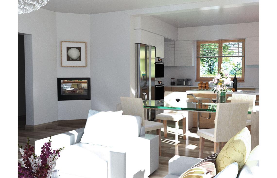 Projekt domu Ewa A wnętrze 1