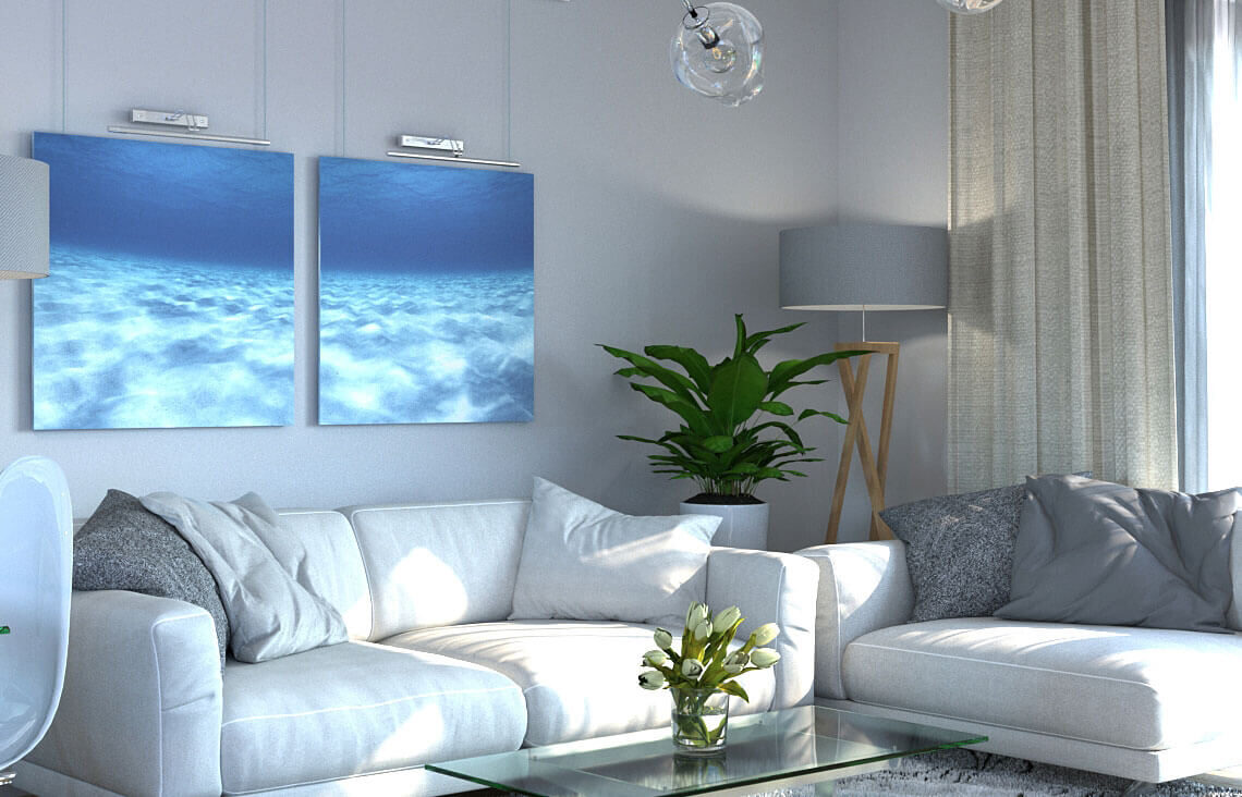 Projekt domu Ewa LUX salon