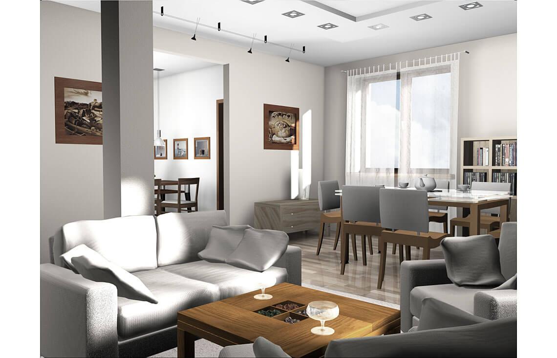 Projekt domu jednorodzinnego Gienia wnętrze 5