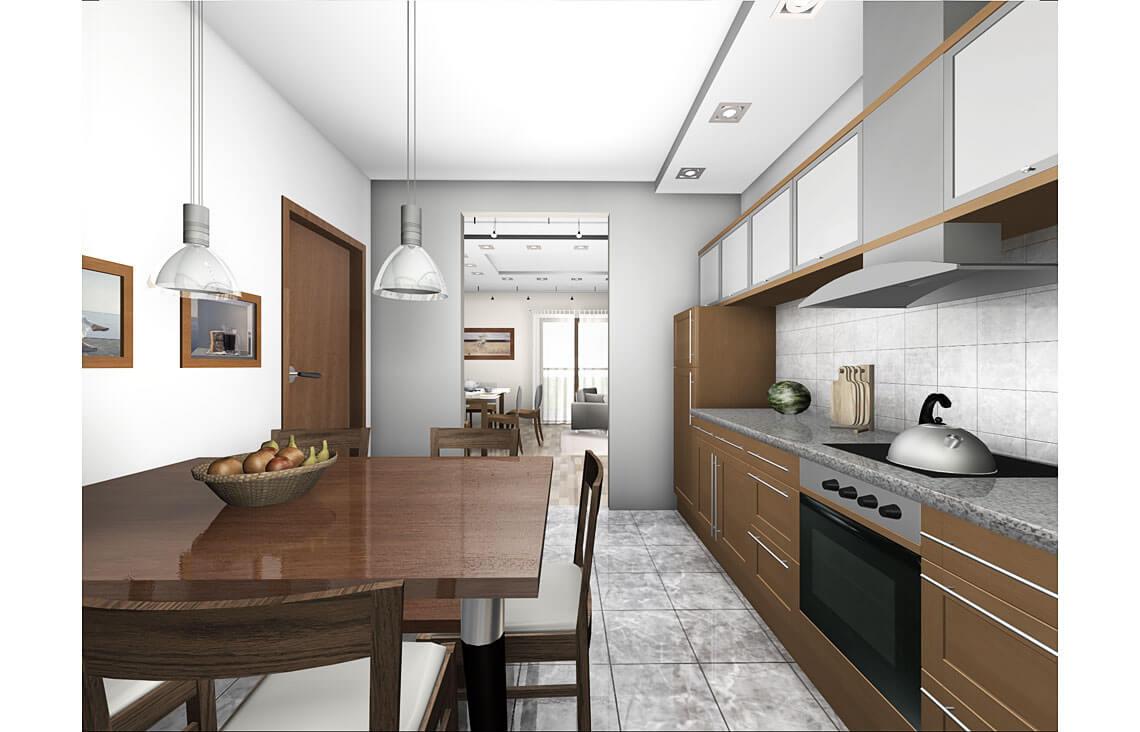 Projekt domu jednorodzinnego Gienia wnętrze 6
