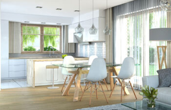 Projekt domu Harmonia Nova A wnętrze jadalnia