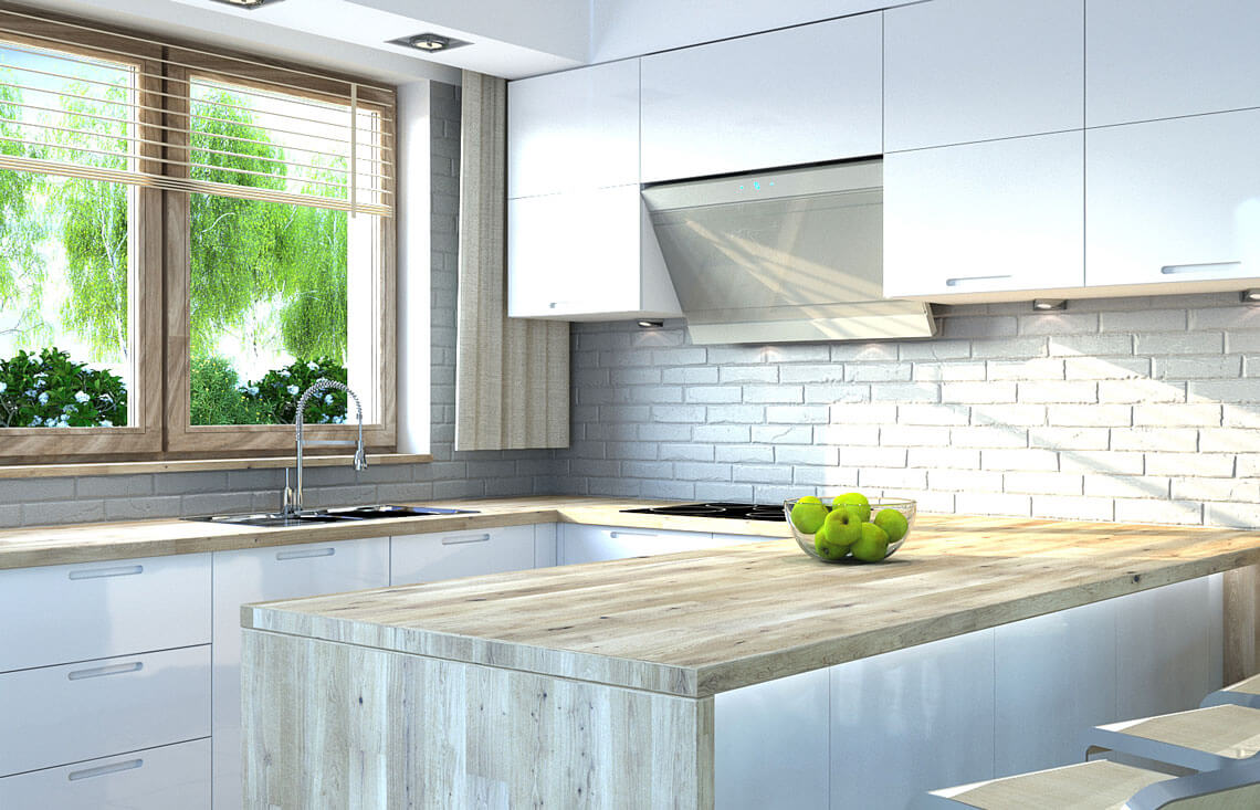 Projekt domu Harmonia Nova A wnętrze kuchnia