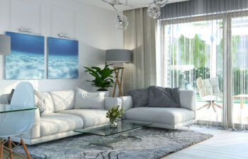Projekt domu Harmonia Nova A wnętrze salon