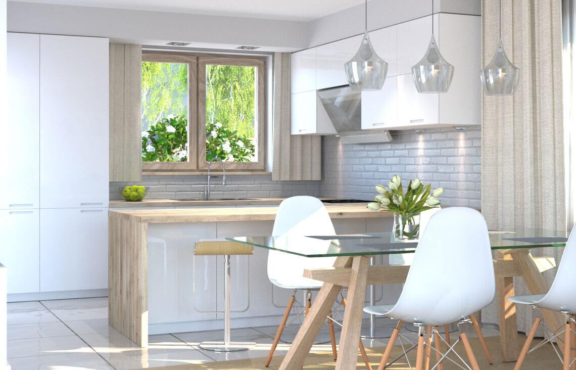 Projekt domu Ewa LUX kuchnia
