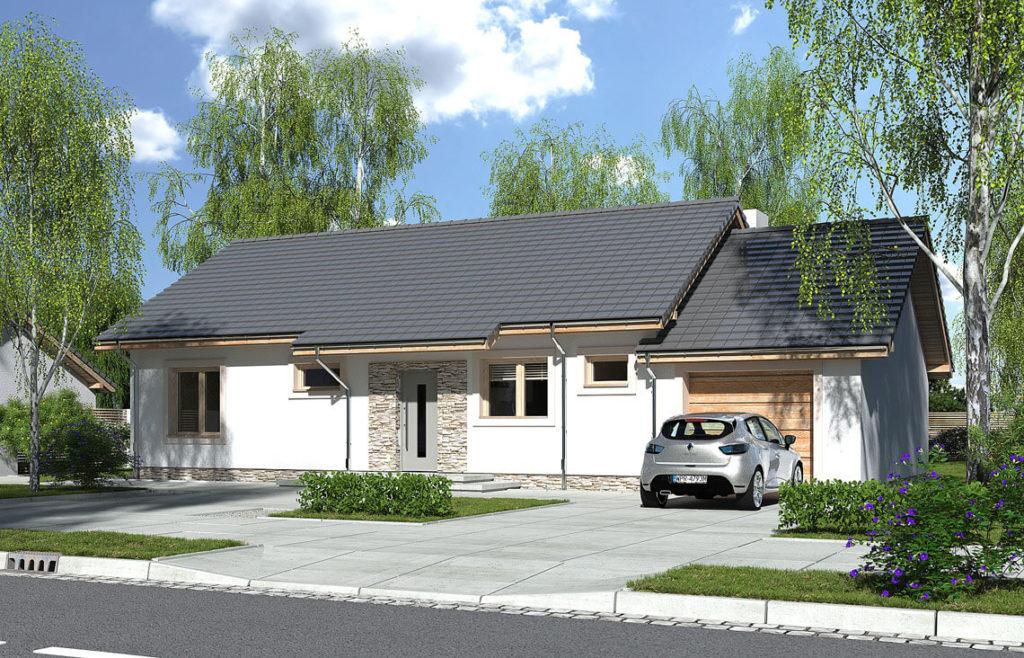 Projekt domu Nina 2 Nova C front