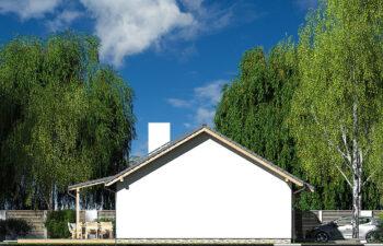 Projekt domu Nina 2 Nova D elewacja lewa