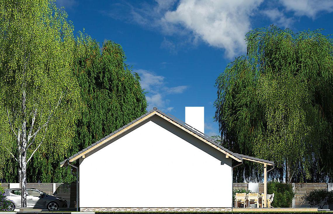 Projekt domu Nina 2 Nova D elewacja prawa