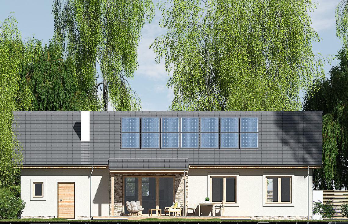 Projekt domu Nina 2 Nova D elewacja front