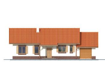 Projekt domu Nina 2 elewacja front