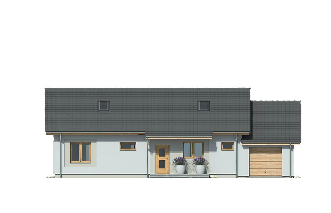 Projekt domu Nina 3 Nova C elewacja front