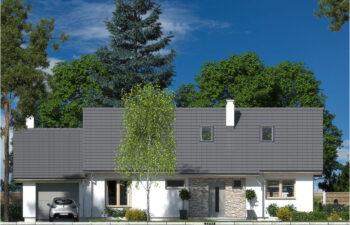 Projekt domu Nina LUX elewacja front