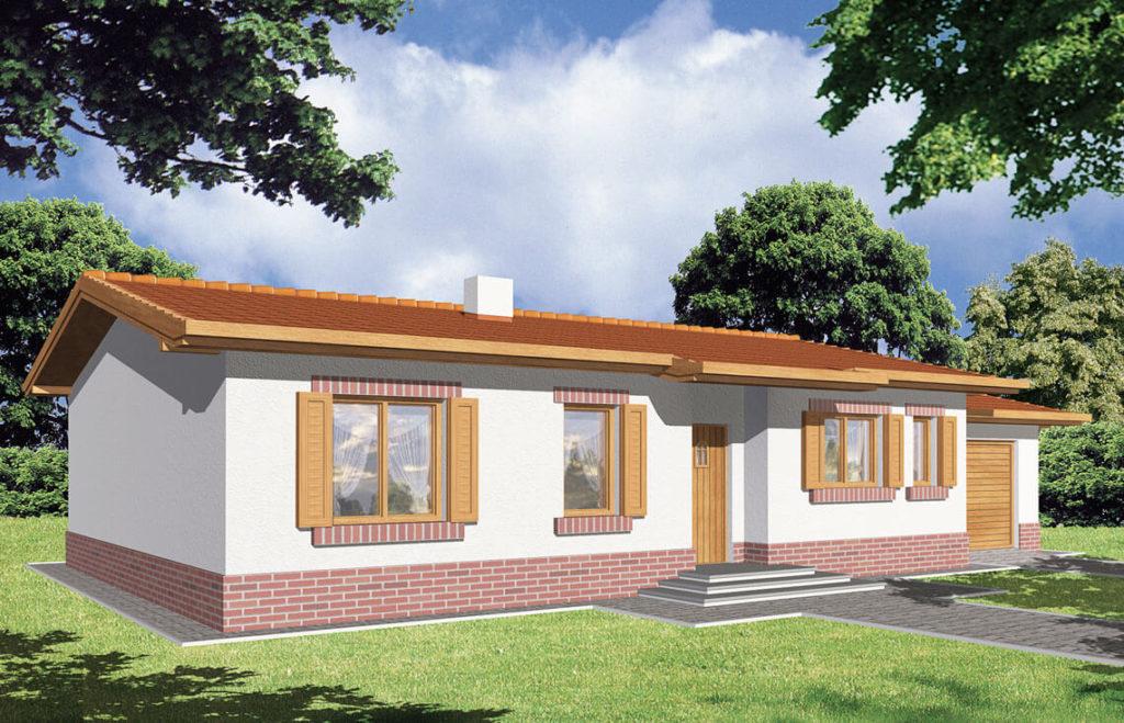 Projekt domu Nina widok