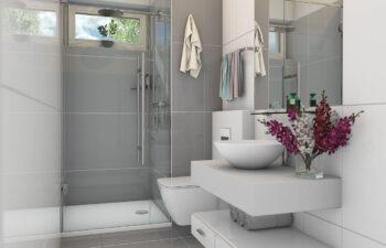 Projekt domu Werbena LUX łazienka parter