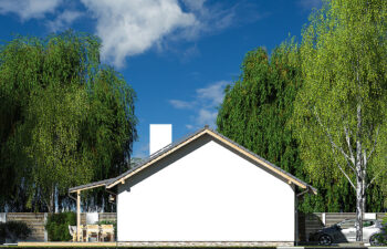 Projekt domu Nina 2 Nova C elewacja lewa