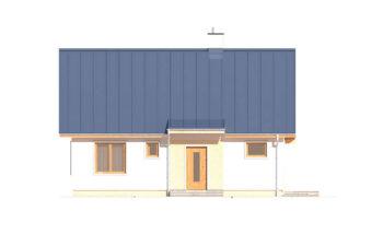 Projekt domu jednorodzinnego Abi A elewacja front