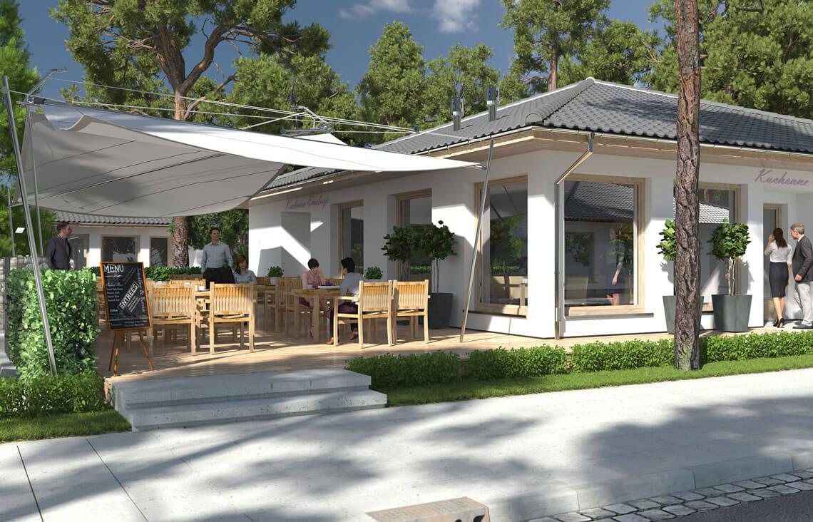 Projekt usługowy Bar Restauracja Kuchenne Ewolucje widok 4