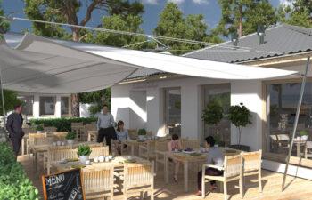 Projekt usługowy Bar Restauracja Kuchenne Ewolucje widok 5